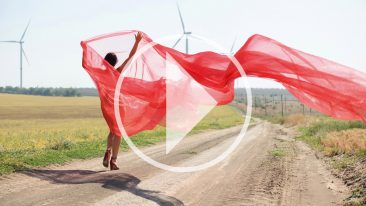 Video of a nude photo shoot. Naked girl in a transparent fabric in the wind. Pablo Incognito