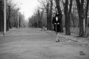 Photo walk nude in the park, Pablo Incognito