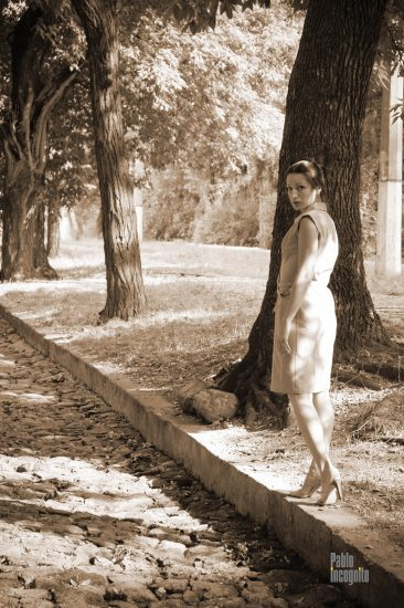 One of the first nude photo sessions by Irene Adler. Nude photo by Pablo Incognito