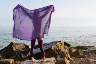 Nude photo shoot on a wild beach for a calendar. Pablo Incognito
