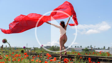 Video backstage nude photo sessions on the rails. Nude photographer Pablo Incognito