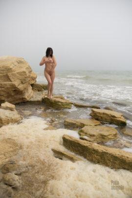 Nude model Iren Adler as Aphrodite. Photo by Pablo Incognito