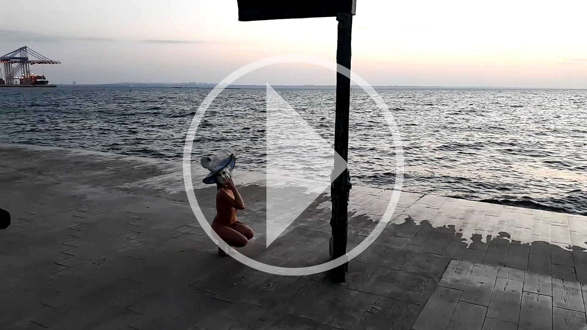 Видео бекстейдж ню-арт-фото сессии Пабло Инкогнито