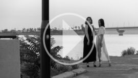 Video backstage of a black and white nude photo shoot by Pablo Incognito