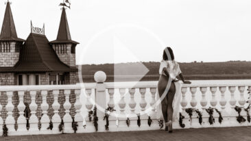 Video backstage Nude photo session in the castle. Photo by Pablo Incognito