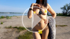 20 second video of nude model Iren Adler. Photographer Pablo Incognito
